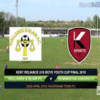 Kent Reliance U18 Boys Youth Cup Final 2018