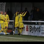 Behind the goal highlights SCR v Hanworth Villa