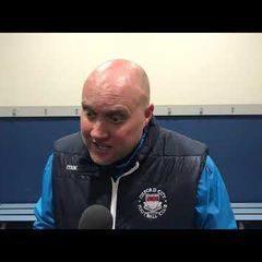 POST MATCH INTERVIEW - Oxford City 0-1 Welling United