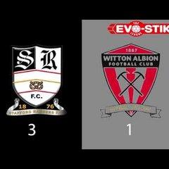 Stafford Rangers 3-1 Witton Albion