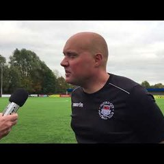 POST MATCH INTERVIEW - Oxford City 1-0 Bognor Regis Town