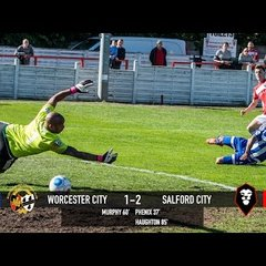 Worcester City 1-2 Salford City - National League North 22/04