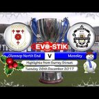 Glossop North End v Mossley 26/12/17