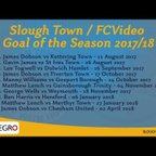 Slough Town Goal of the Season  - 2018/19