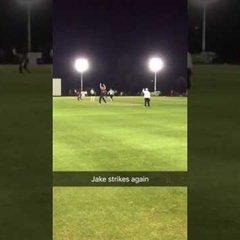 Jake Benson strikes again #GAPHireT20