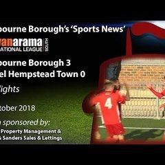 'Sports News': Eastbourne Borough 3 v 0 Hemel Hempstead Town – National League South Highlights
