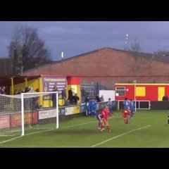 Banbury United 2 Stratford Town 1 - 3rd Dec 2016 - The Goals