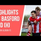 MATCH HIGHLIGHTS | Witton Albion 2 Basford United 2