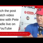 REACTION: Beadle On Late Win