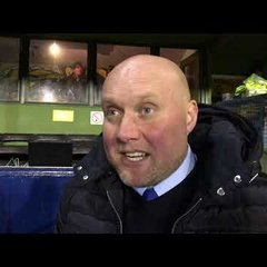 POST MATCH INTERVIEW - St Albans City 1-0 Oxford City