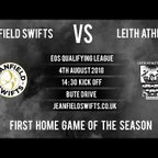 Jeanfield Swifts F.C. Vs. Leith Athletic F.C. 3-0 | East of Scotland Cup Qualifier