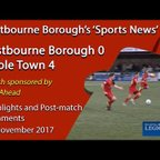 'Sports News': Eastbourne Borough 0 v 4 Poole Town