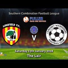 Lingfield FC v Langney Wanderers - League - 13-01-2018