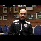 The Mikes TV | The Mikes 3-0 Studley | Stuart Grosvenor | Post Match Interview