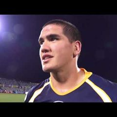 Mees Erasmus Super Rugby Debut