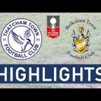 FA Trophy | Thatcham Town FC vs Melksham Town FC | Highlights