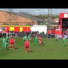 Banbury United 1 Hitchin Town 1 - 15th April 2017 - Match Highlights