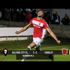 Michael Nottingham's equaliser against Chorley