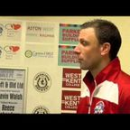 ANGELS VS FOLKESTONE INVICTA - Post match Interview 12/9/2015