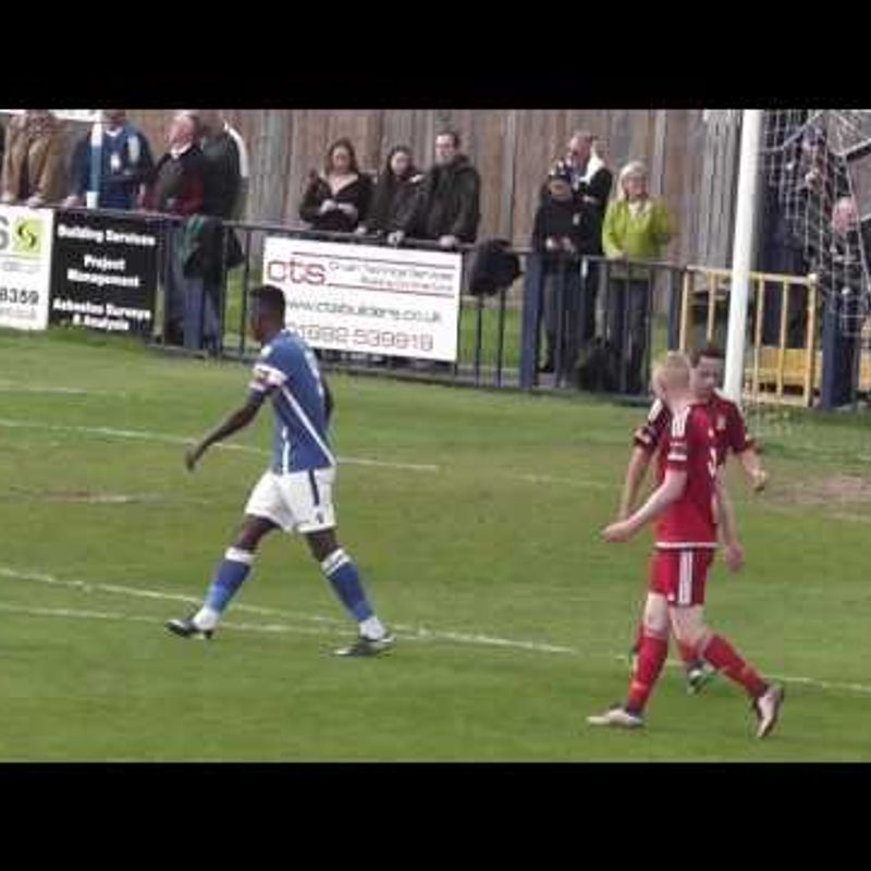 TONBRIDGE ANGELS VS WORTHING - Match highlights 22/04/2017