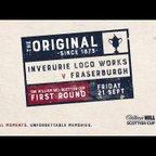 Inverurie Loco Works 3-4 Fraserburgh   William Hill Scottish Cup 2018-19 – First Round