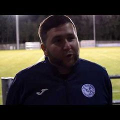 Thatcham Town FC 3-0 Woodley Utd FC - Interview with Danny Robinson