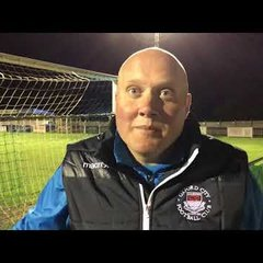 POST MATCH INTERVIEW - Wealdstone 1-1 Oxford City