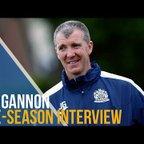 Jim Gannon Pre-Season Interview 17/18