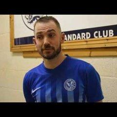 Thatcham Town FC vs Broadbridge Heath FC - Tom Melledew Interview