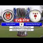 Hyde United v Glossop North End 01/01/18