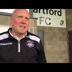 VIDEO | Mark Jones' Comments Following Dartford 7-1 Oxford City