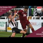 Bath City 2 vs 0 Chelmsford City - Extended Highlights