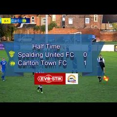 Spalding Utd FC v Carlton Town FC