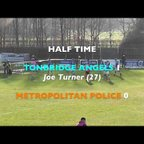 TONBRIDGE ANGELS VS METROPOLITAN POLICE - Match Highlights 24/2/2018