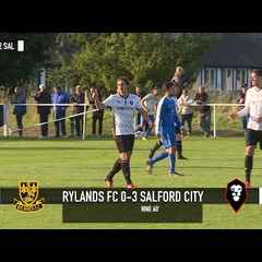 Rylands 0-3 Salford City - 2016/17 Pre-season match