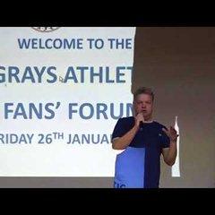 Grays Athletic FC fans forum 26/1/2018