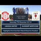 Lincoln United v Glossop North End 07/12/19