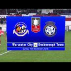 Worcester City v Desborough Town #FAVase
