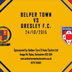 Belper Town 5 - 2 Gresley FC 24th October 2015 Highlights