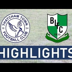 Thatcham Town FC vs Blackfield and Langley FC | Highlights