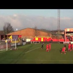 Banbury United v St Neots Town - 21st January 2017 - Match Highlights
