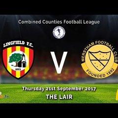 Lingfield FC u18 v Merstham FC u18 - 21 09 2017 - HIGHLIGHTS