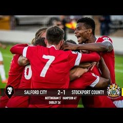 Salford City 2-1 Stockport County - National League North 15/08