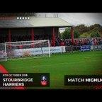 Match Highlights: Stourbridge 3-2 Harriers 06/10/18
