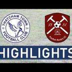 Thatcham Town FC vs Paulton Rovers FC | Highlights