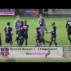 Dulwich Hamlet 4-2 Kingstonian, Ryman League Premier Division, 20/03/17 | Match Highlights