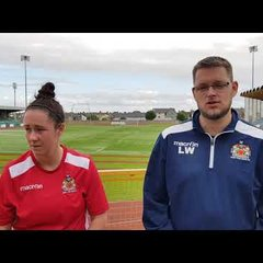 Barry Town Ladies 5-2 Cascade Post Match Reaction