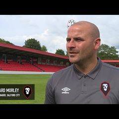 Salford City 3-4 Blackpool - Bernard Morley post match interview