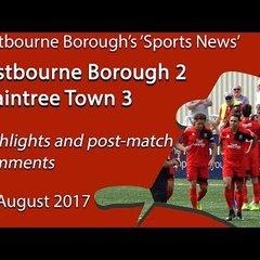 Eastbourne 2 Braintree Town 3