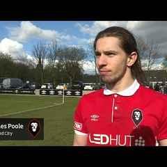 Salford City 3-2 Workington - James Poole post-match interview